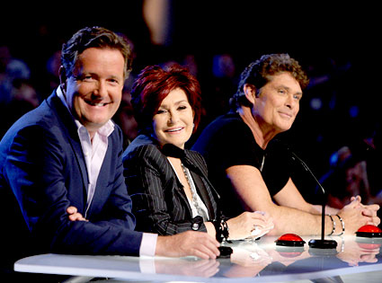 America's Got Talent, Piers Morgan, Sharon Osbourne, David Hasselhoff