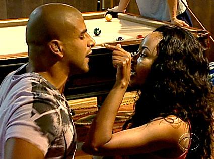 Big Brother, Russell Kairouz, Chima Simone