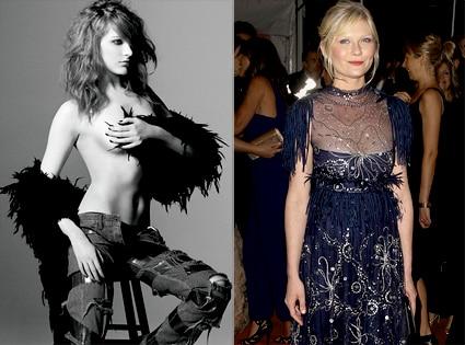 Evan Rachel Wood, Flaunt Magazine, Kirsten Dunst