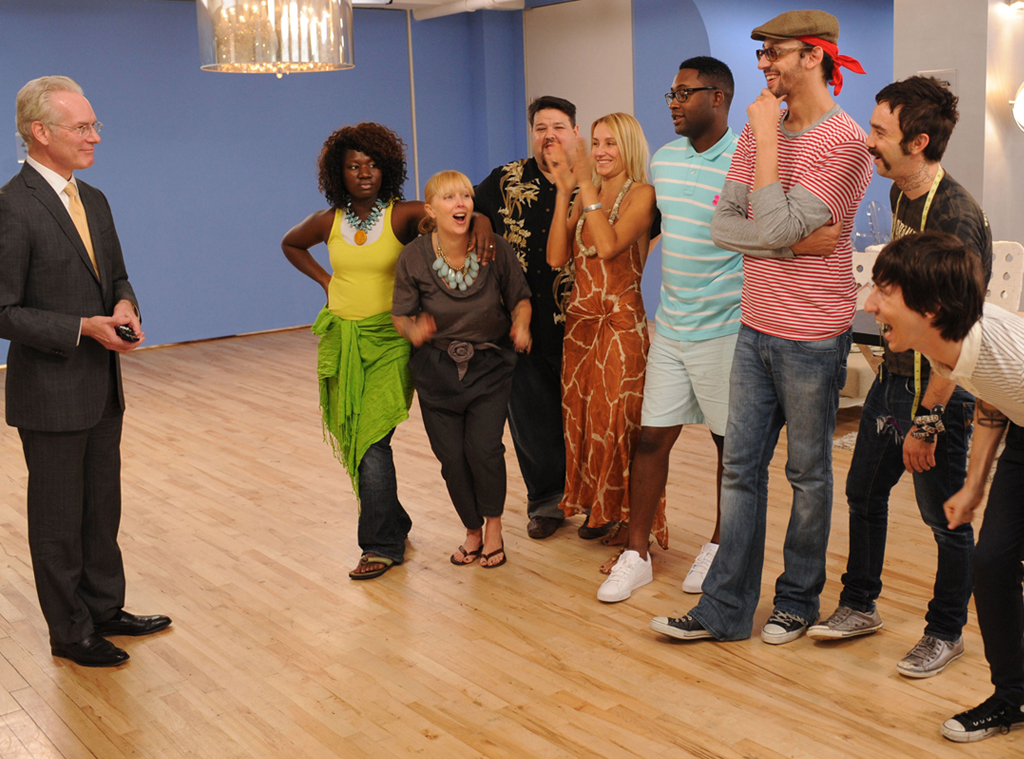 Project Runway, Tim Gunn, Korto Momolu, Sweet P Vaughn, Chris March, Uli Herzner, Mychael Knight, Santino Rice, Jeffrey Sebelia