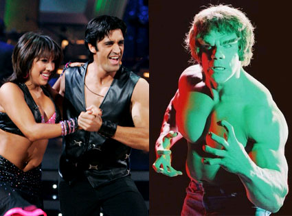 Dancing With the Stars, Cheryl Burke, Giles Marnin, lou ferrigno