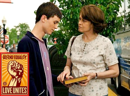 Sigourney Weaver, Ryan Kelley, Prayers for Bobby, Defend Equality, Proposition 8 Poster