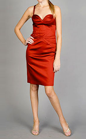 Sexy Red Dress from Laundry by Shelli Segal