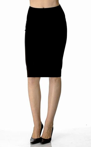 Paige's Black Label Dresden High Waisted Pencil Skirt