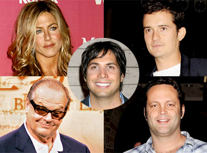 Jennifer Aniston, Orlando Bloom, Jack Nicholson, Vince Vaughn, Joe Francis