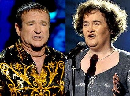Robin Williams, Susan Boyle