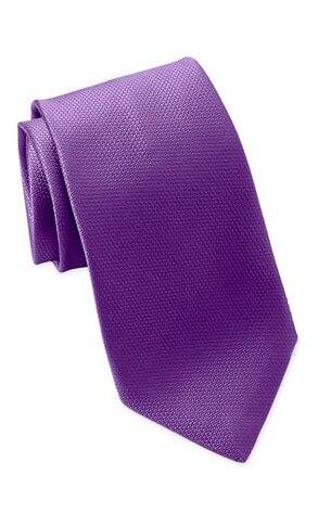 David Donahue's Woven Silk Tie