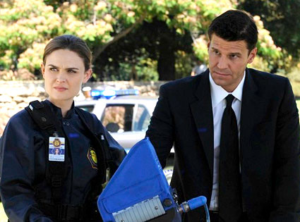 Bones, Emily Deschanel, David Boreanaz