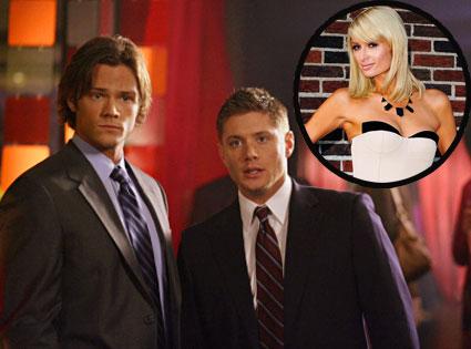 Jared Padalecki, Jensen Ackles, SUPERNATURAL, Paris Hilton