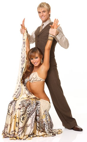 Dancing with the Stars, Aaron Carter  Karina Smirnoff