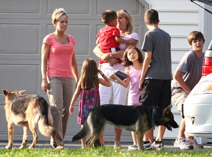 Kate Gosselin, Steve Neild and family