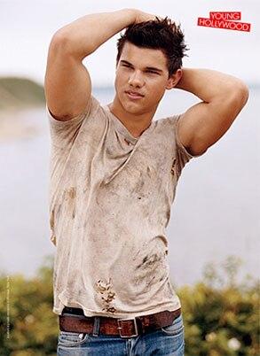 Taylor Lautner, Teen Vogue Magazine, Inside