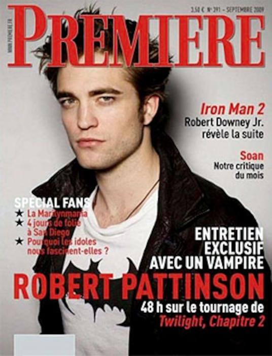 Robert Pattinson, Premiere Magazine, Cover