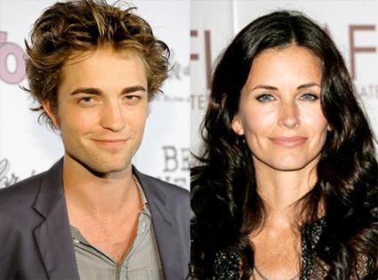 Robert Pattinson, Courteney Cox