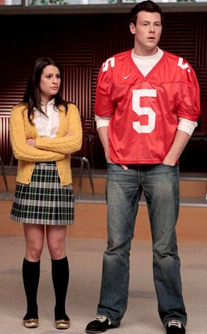 Glee, Cory Monteith, Lea Michele