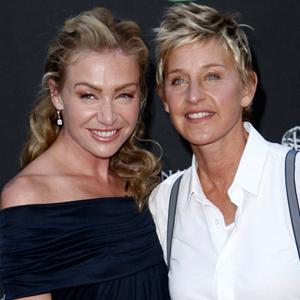 Portia de Rossi, Ellen DeGeneres