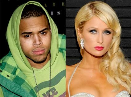 Chris Brown, Paris Hilton
