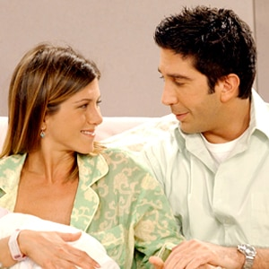 Friends, David Schwimmer, Jennifer Aniston