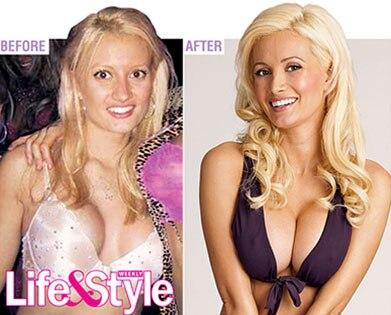 Holly Madison, Life and Style Magazine, Inside