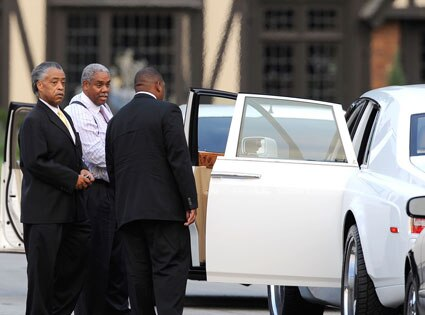 Rev Al Sharpton, Michael Jackson Funeral