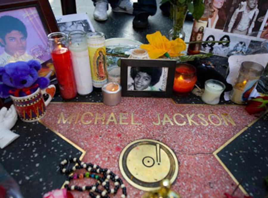 Michael Jackson, Walk of fame Star