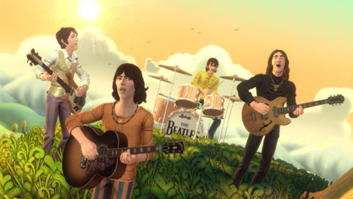 The Beatles, Rockband