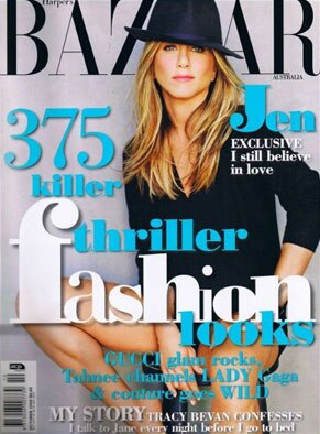 Jennifer Anniston, Harpers Baazar