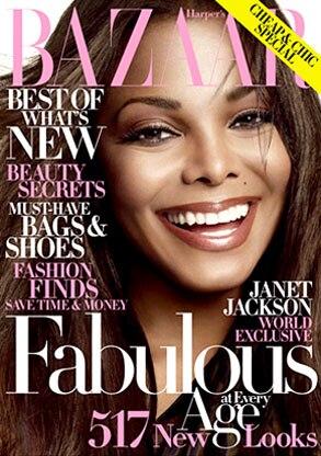 Janet Jackson, Harper's Bazaar, Cover