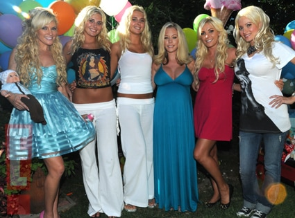 Bridget Marquardt, Kristina Shannon, Karissa Shannon, Kendra Wilkinson, Crystal Harris, Holly Madison