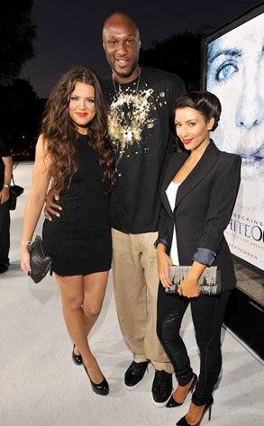 Khloe Kardashian Odom, Lamar Odom, Kim Kardashian