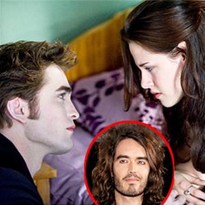 Robert Pattinson, Kristen Stewart, New Moon, Russell Brand