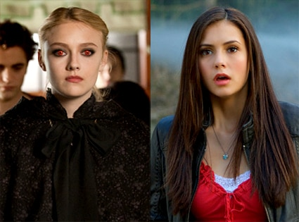 New Moon, Dakota Fanning, Vampire Diaries, Nina Dobrev
