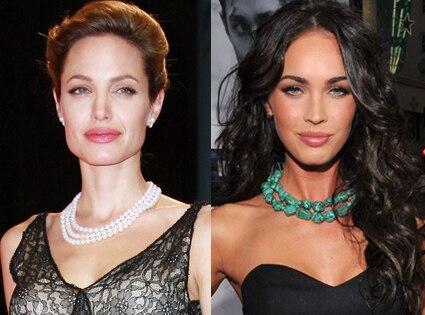 Angelina Jolie, Megan Fox