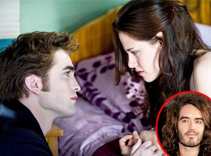 Robert Pattinson, Kristen Stewart, New Moon, Russell Brand
