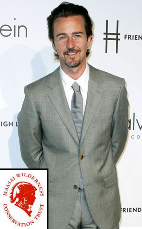 Edward Norton, MAASAI WARRIORS Trust