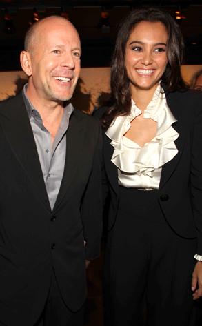Bruce Willis, Emma Hemming