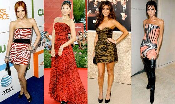 Ashlee Simpson-Wentz, Eva Mendes, Jamie-Lynn Sigler, Victoria Beckham