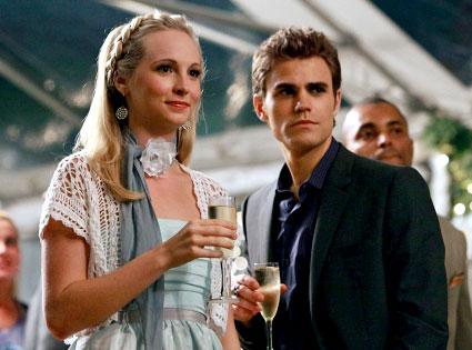 Vampire Diaries, Candice Accola, Paul Wesley