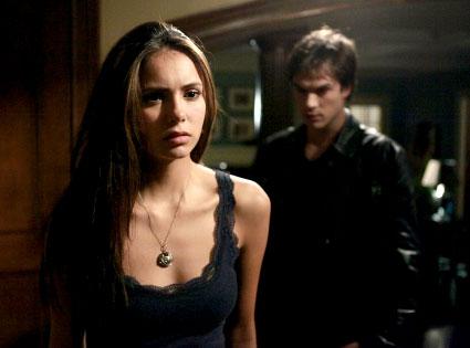 Vampire Diaries, Nina Dobrev, Ian Somerhalder