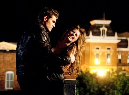 Vampire Diaries, Paul Wesley, Kayla Ewell