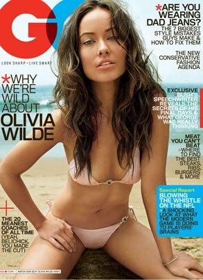 Olivia Wilde, GQ Cover