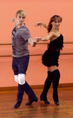 Dancing with the Stars, Aaron Carter  Karina Smirnoff