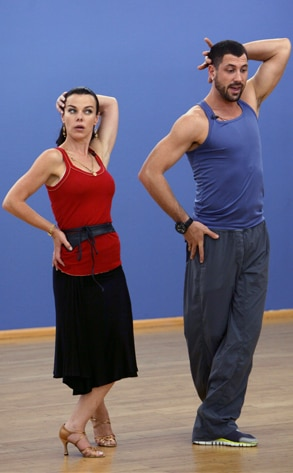 Dancing with the Stars, Debi Mazar, Maksim Chmerkovskiy