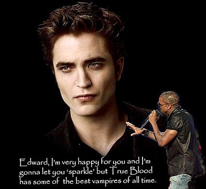 Kanye West, Robert Pattinson