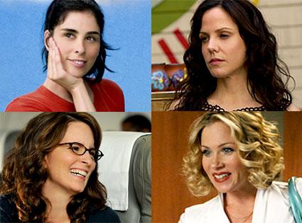 Sarah Silverman, The Sarah Silverman Program, Mary-Louise Parker, Weeds, Tina Fey, 30 Rock, Christina Applegate, Samantha Who