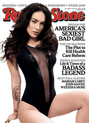 Megan Fox, Rolling Stone, Cover