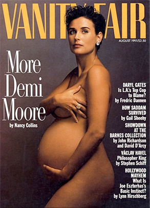 Demi Moore, Vanity Fair, Cover