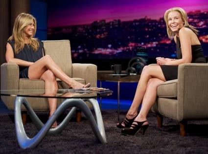 Jennifer Aniston, Chelsea Handler, Chelsea Lately