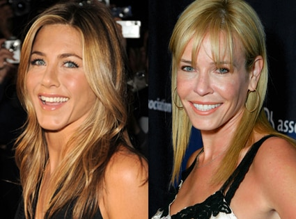 Jennifer Aniston, Chelsea Handler