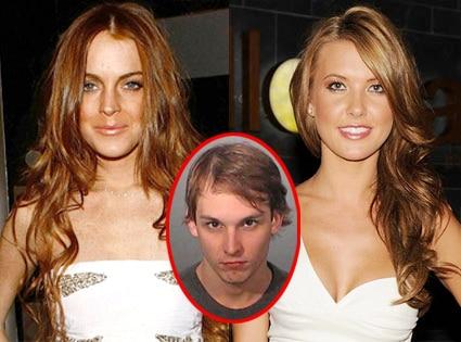Lindsay Lohan, Audrina Patridge, Nicolas Prugo